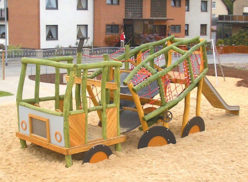 Betonmixwagen (zonder glijbaan)
